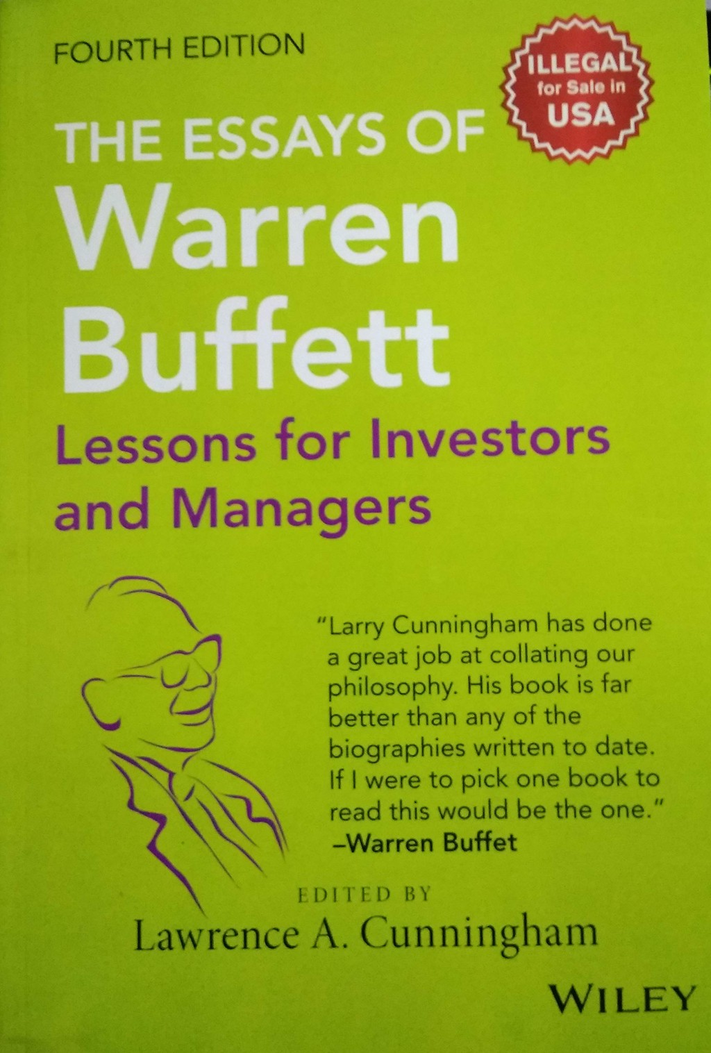 006 Essays Of Warren Buffett 81k2r32ddul Essay Top 4th Edition The Pdf Free Large