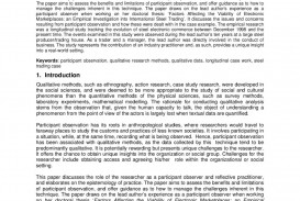006 Ethnographic Essay Page 1 Amazing Outline Format Samples