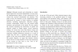006 Fat Is Feminist Issue Essay Largepreview Fearsome A