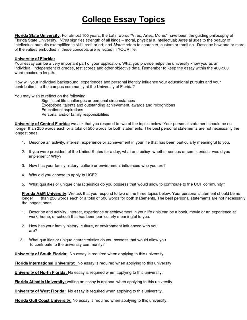 006 Free Topic Essay Resume Examples Templates How To Write Good For College Example Best Surprising Topics Research Paper Student High School Argumentative 868