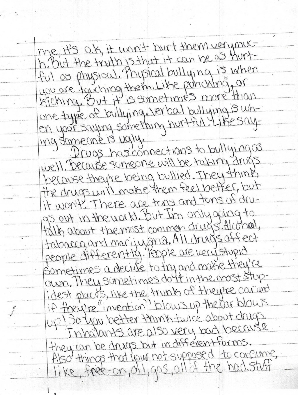006 Harris Page2 0 Essay About Bullying Best Introduction In School Argumentative Brainly Large