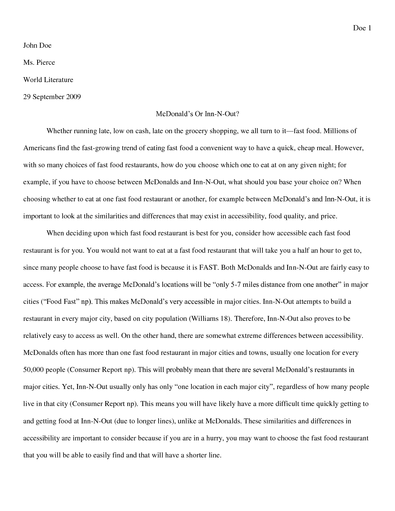006 High School Essay Sample Papers 526023 On Excellent Florida Shooting Uniform Is Necessary Full