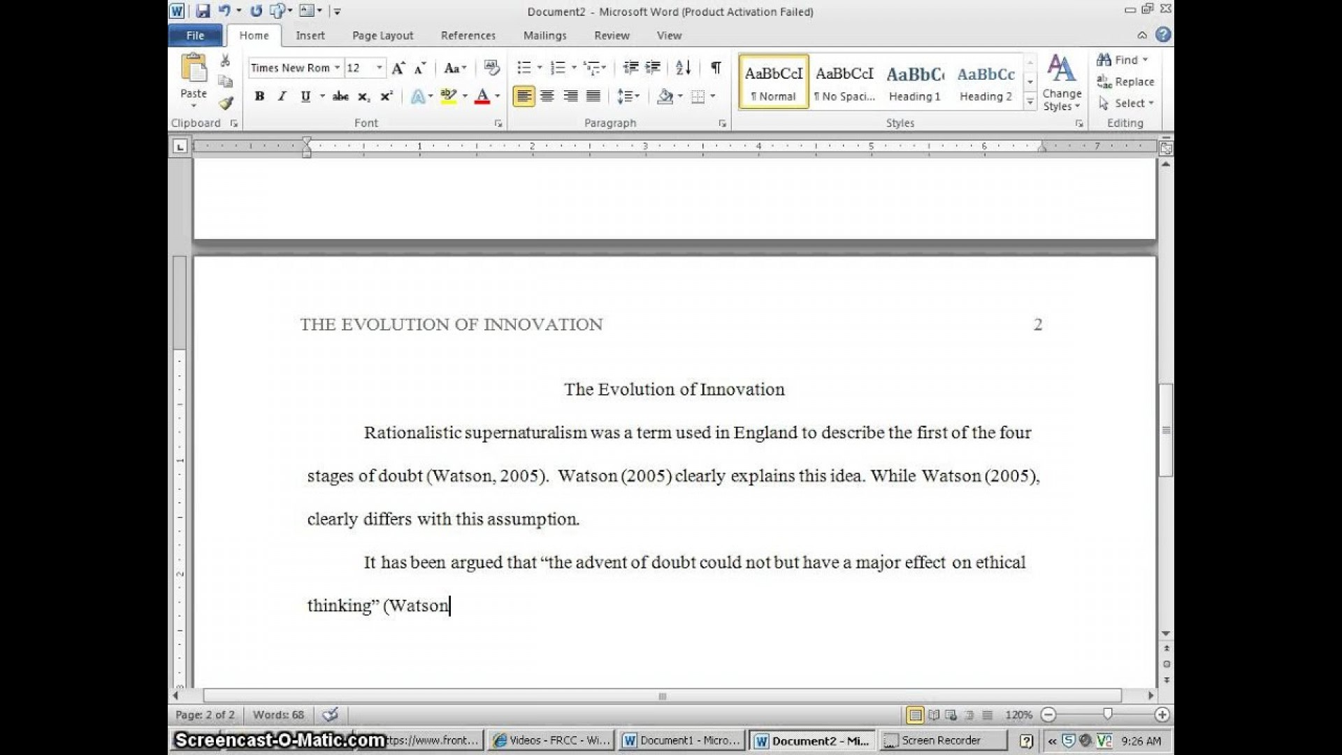 006 How To Cite An Essay In Apa Maxresdefault Wonderful Online Research Paper Using Unpublished Conference 1920