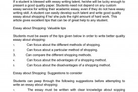 006 How To List Things In An Essay About Shopping Consider When Writing It Of Write Topics What Funny Random Informative Myself Yourself For College Fearsome Correct Way Best