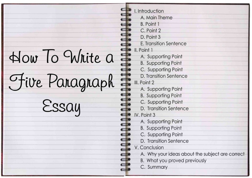 006 How To Write Five Paragraph Essay Unbelievable A Example Ppt Powerpoint 960