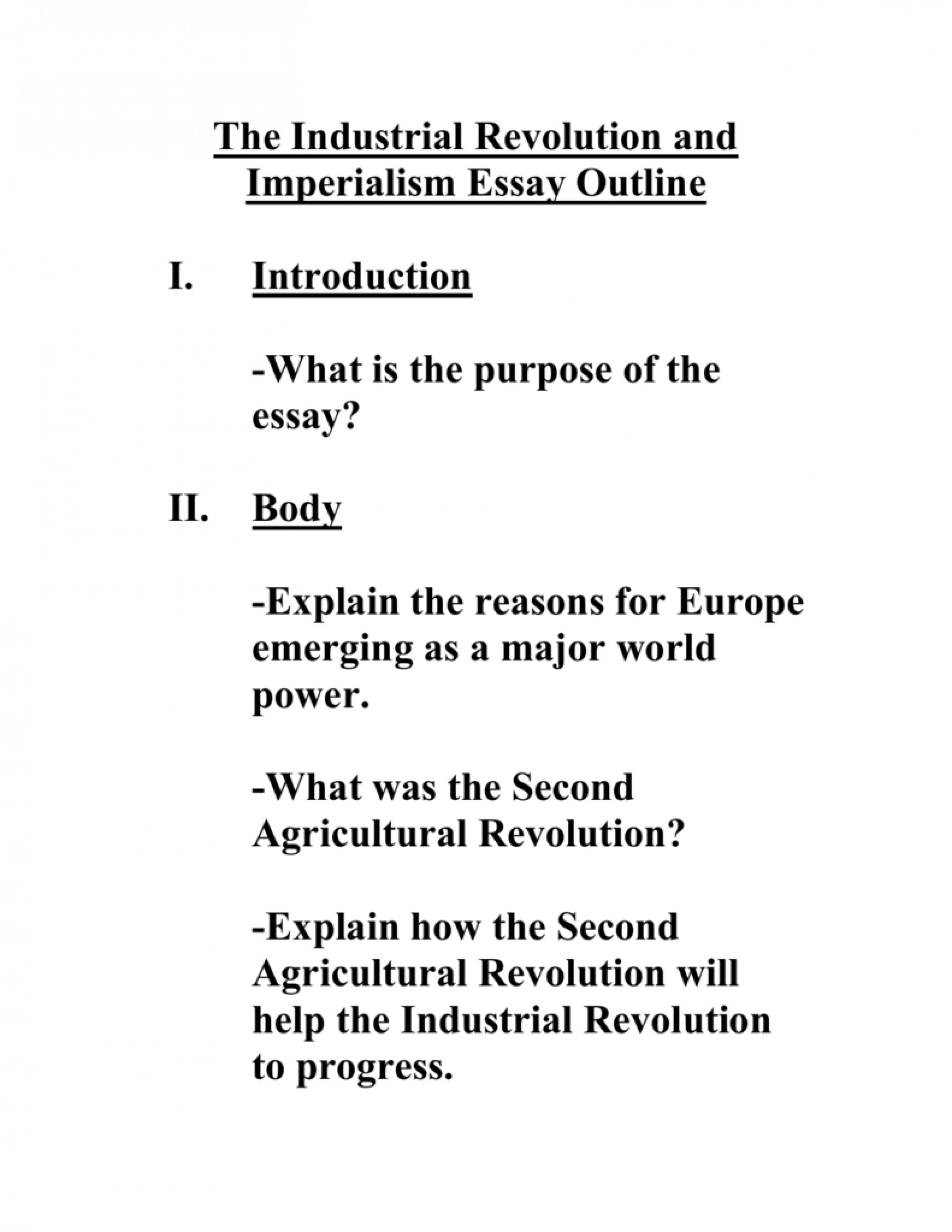 006 Imperialism Essay 008020297 1 Awful Hook Topics Thesis Statement 1920