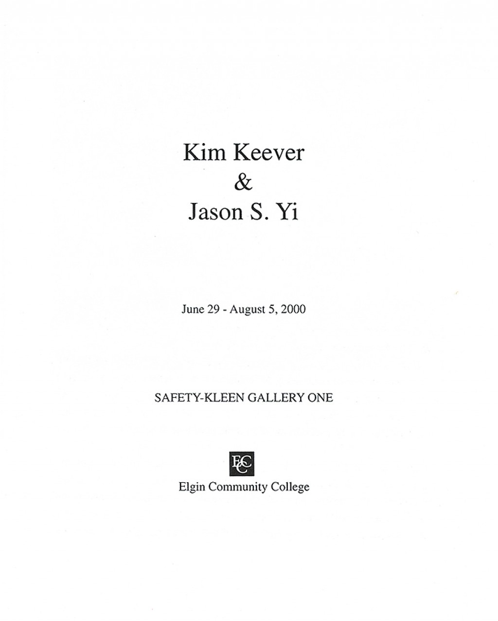 006 Jason Yi Catalog Title Page How To Do Cover For An Essay Best A Make On Microsoft Word Chicago Works Cited In Mla Format Large