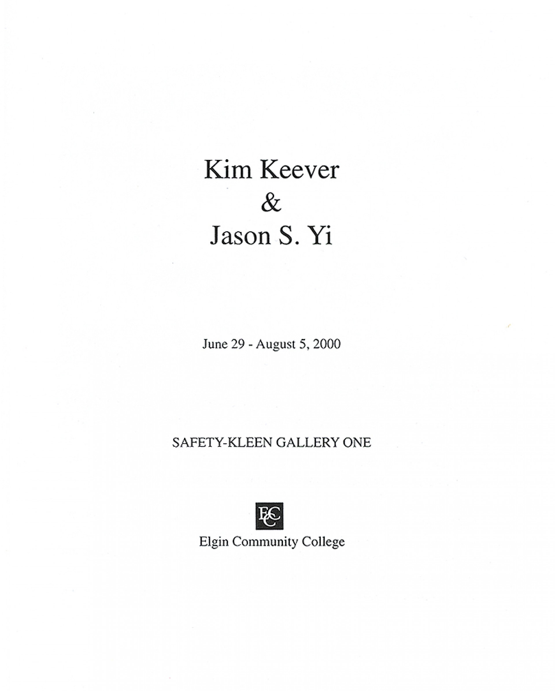 006 Jason Yi Catalog Title Page How To Do Cover For An Essay Best A Make On Microsoft Word Chicago Works Cited In Mla Format 1920