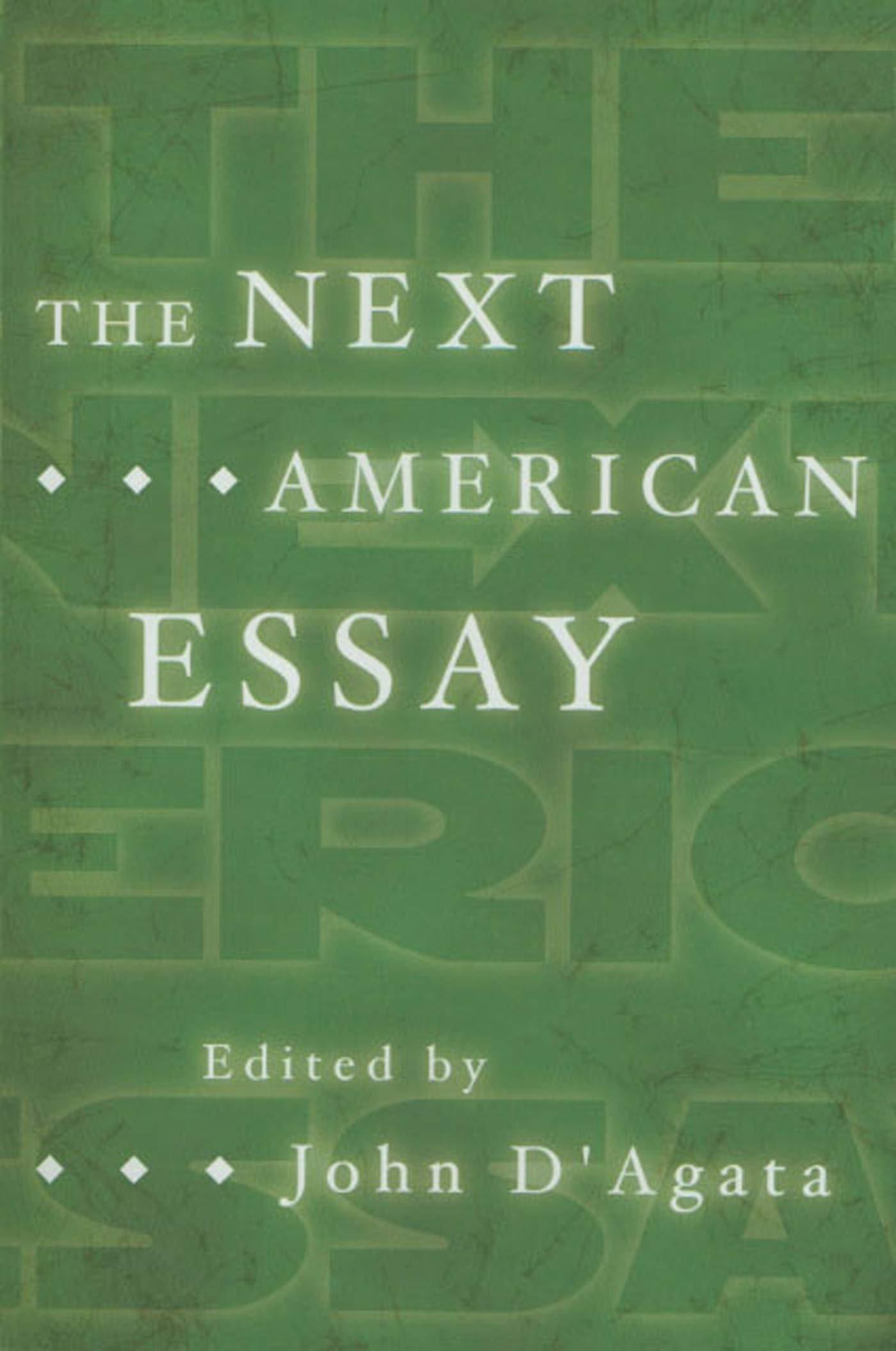 006 John Agata Essay 61uwmdqvqdl Stirring D D'agata Next American 1400