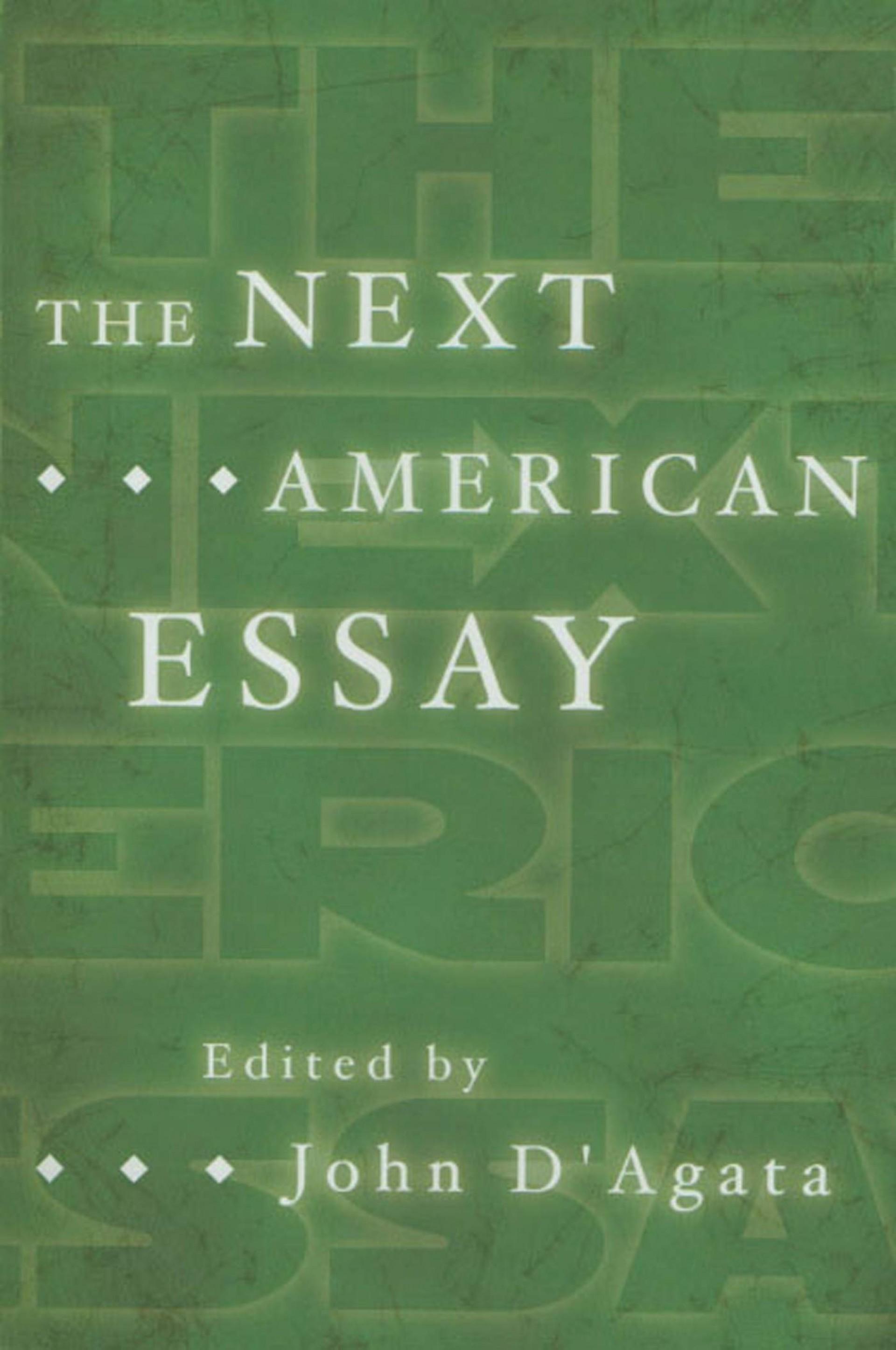 006 John Agata Essay 61uwmdqvqdl Stirring D D'agata Next American The Pdf 1920