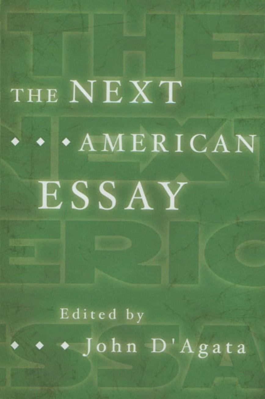 006 John Agata Essay 61uwmdqvqdl Stirring D D'agata Next American 868