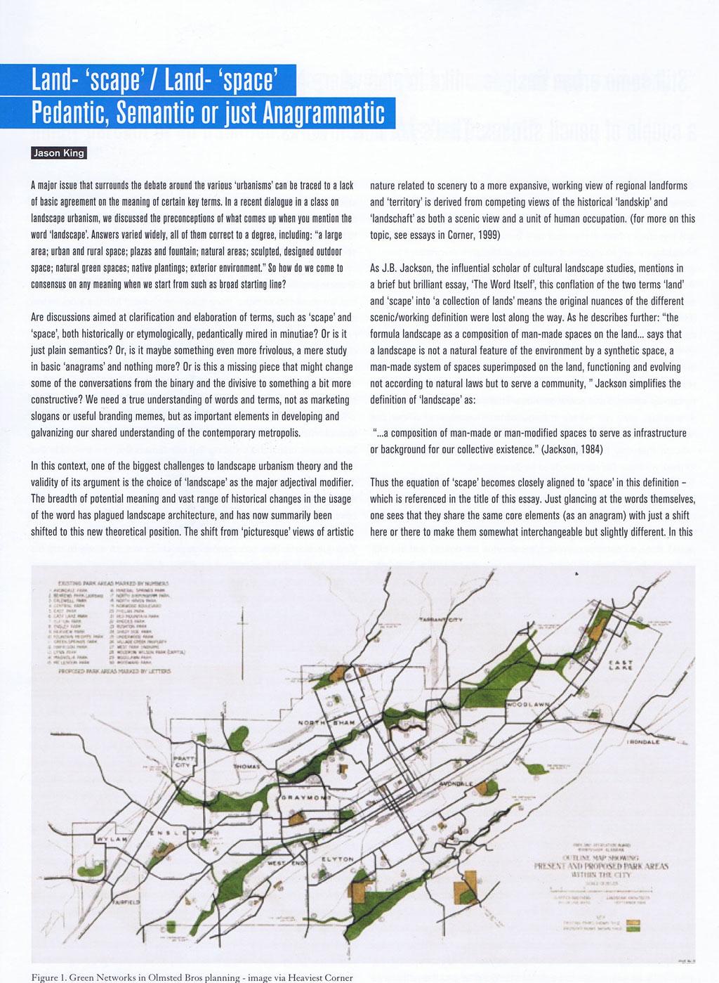 006 Landscape Architecture Essay Atlantis Web Stunning Argumentative Topics Full