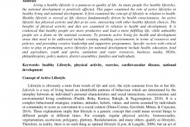 006 Lifestyle And Cardiac Health Essay Largepreview Beautiful