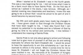 006 Lola Rodriguez National Honor Society Application Essay Sensational Junior Ideas Examples