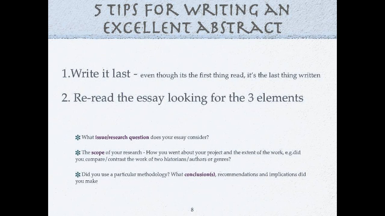 006 Maxresdefault Abstract Essay Unbelievable Sample Abstract/universal Definition Examples Full