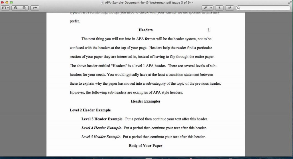 006 Maxresdefault Essay Example Apa Heading Top For Formatting Guidelines Development Large