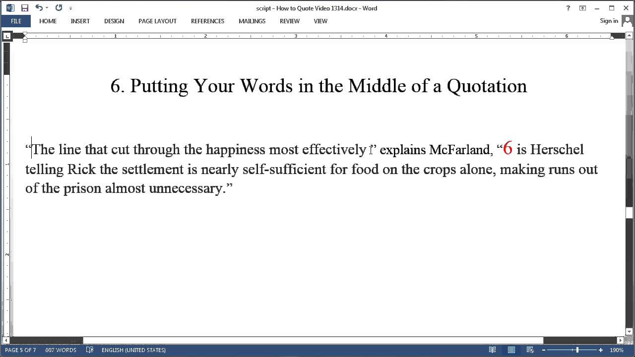 006 Maxresdefault How To Include Quote In An Essay Frightening A Large Famous Add Long Full