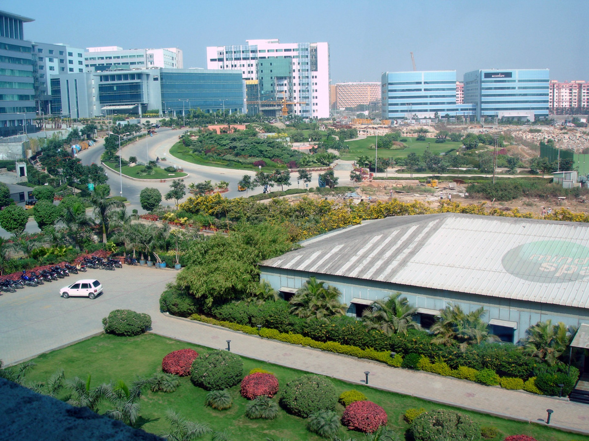 006 Mindspace Campus In Hyderabad2c India About Hyderabad City Essay Impressive Hindi English 1920