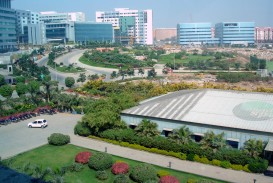 006 Mindspace Campus In Hyderabad2c India About Hyderabad City Essay Impressive Hindi English