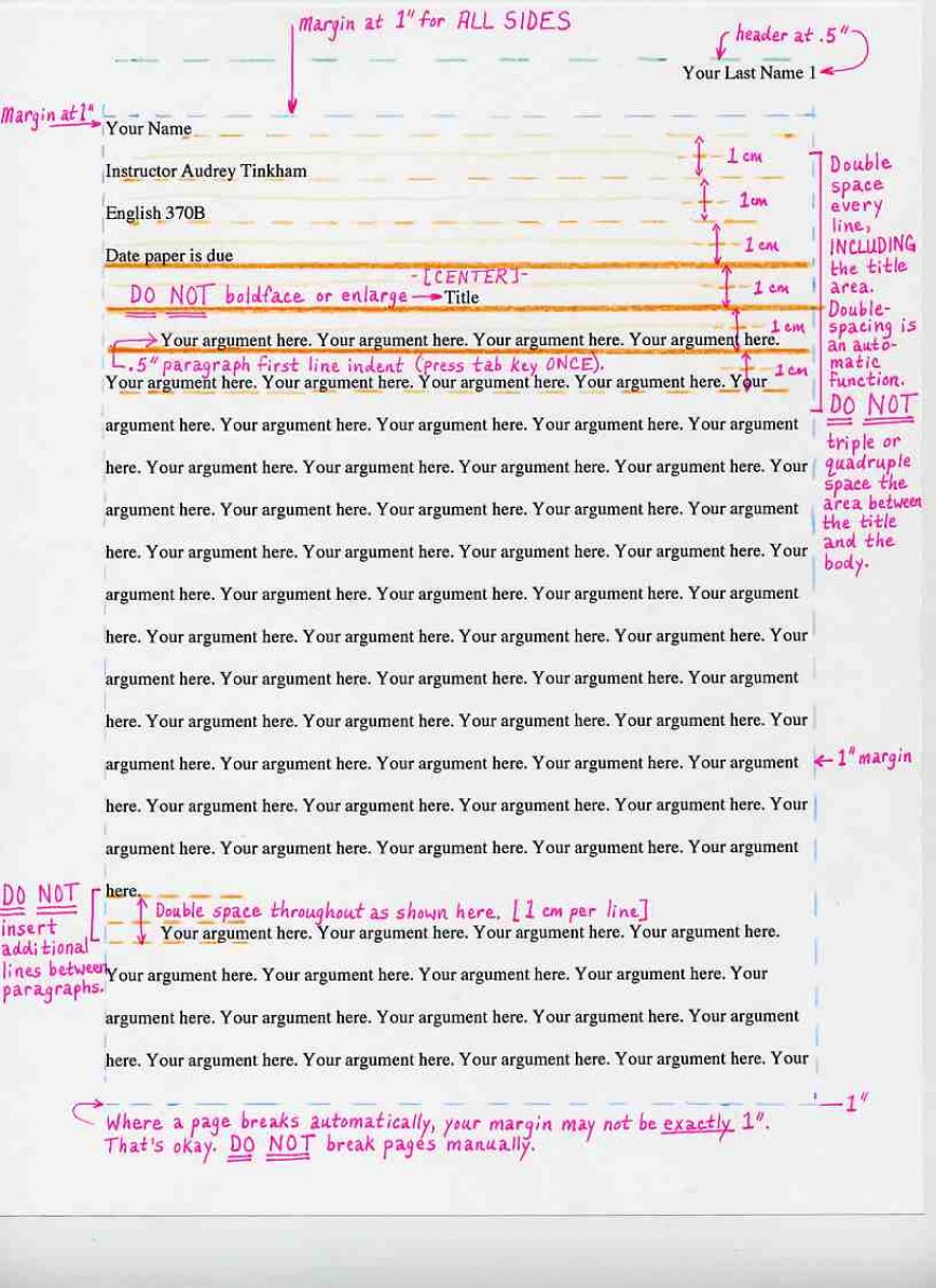 006 Mla Format Essay Example Rare Pdf 2018 Argumentative