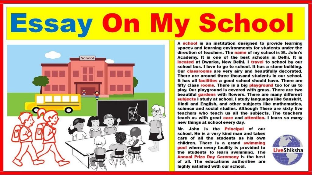 006 My School Essay Maxresdefault Amazing Dream For Class 10 In Urdu 1 3 Marathi Large