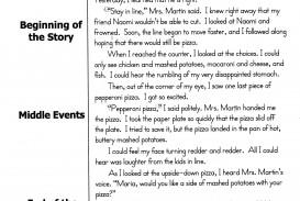 006 Narration Essay Example Unbelievable Narrative Format College Outline Pdf