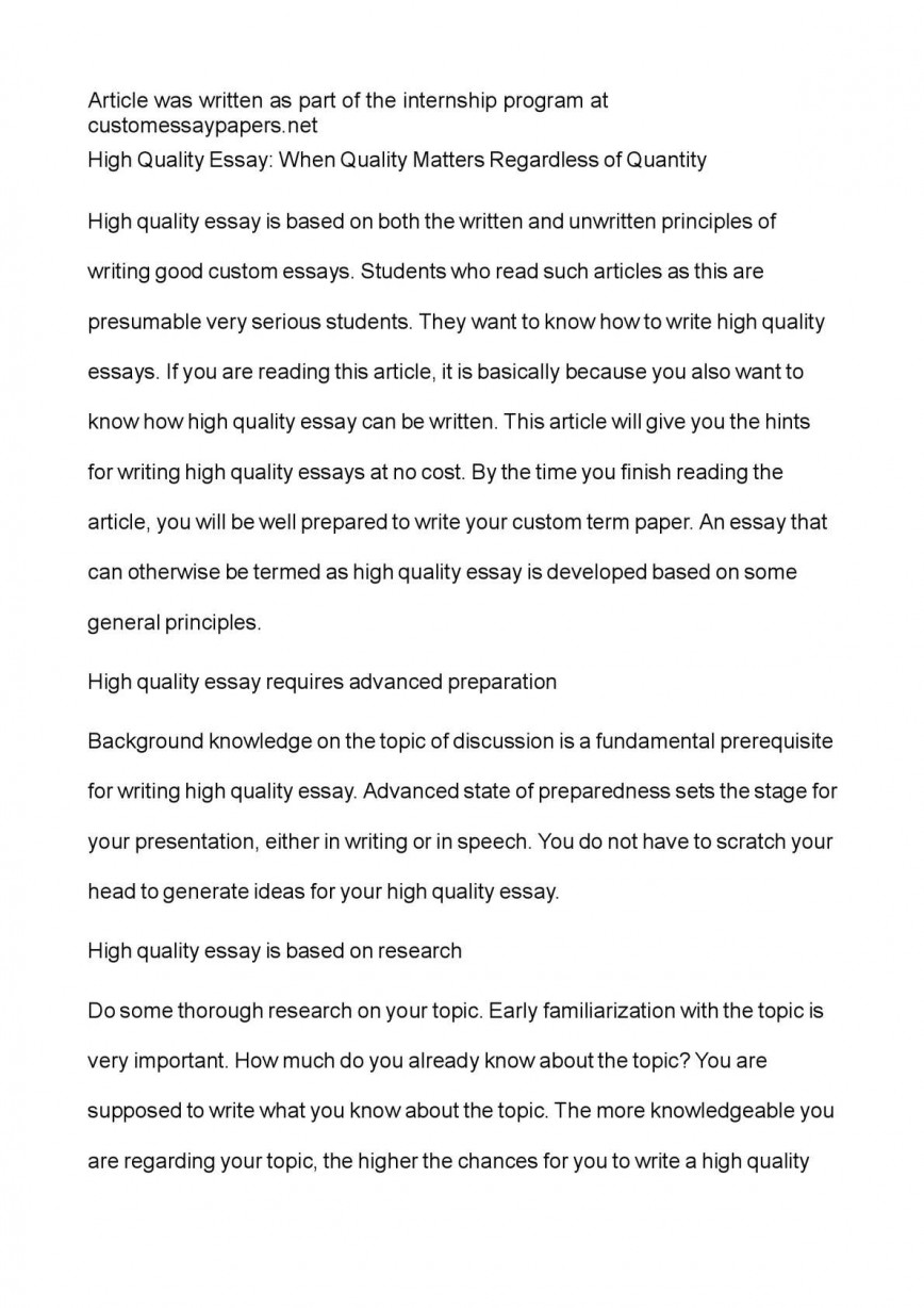 006 P1 Quality Essay Excellent Assurance In Hindi English Writing Kannada