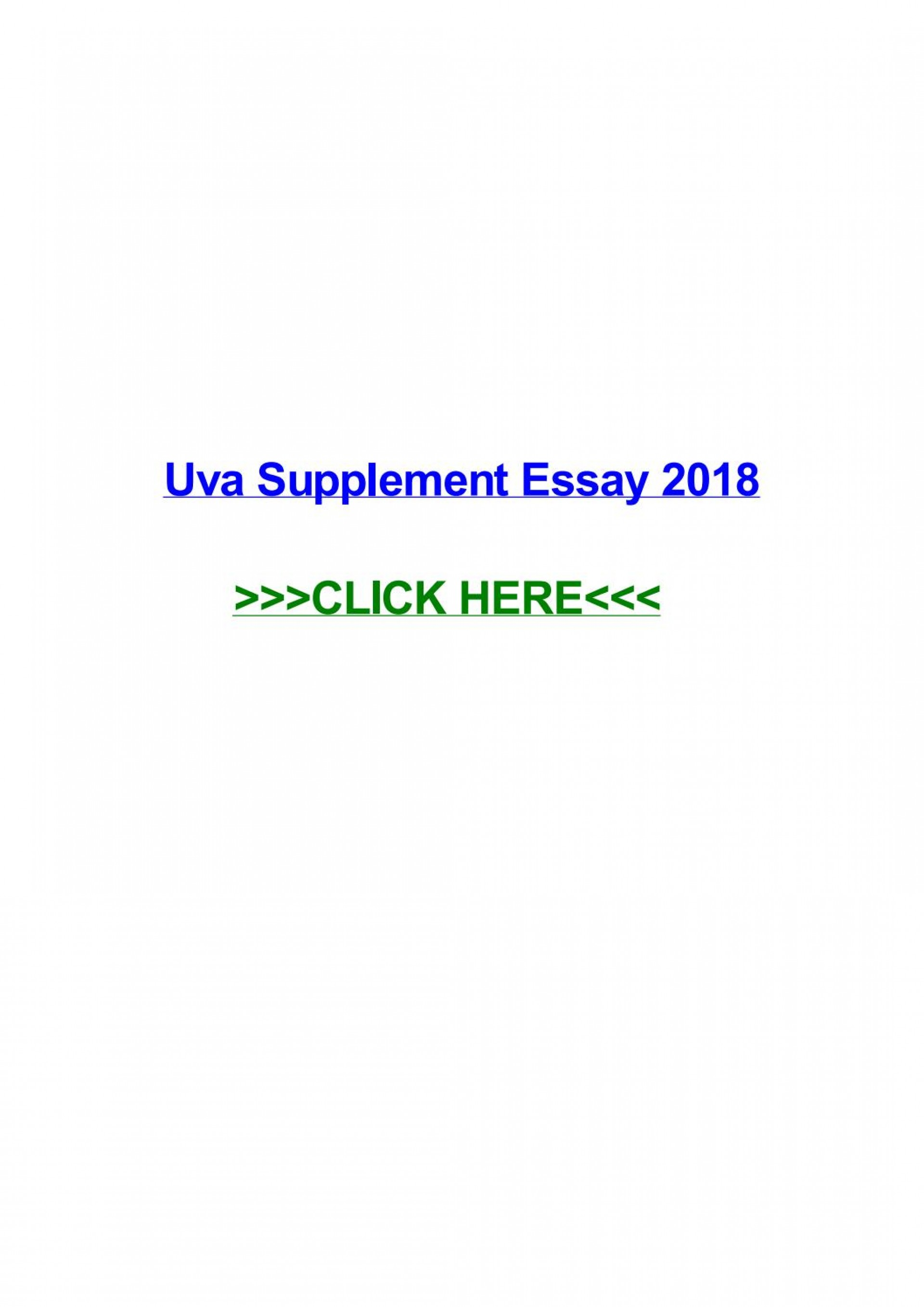 006 Page 1 Essay Example Uva Rare Supplement Tips 2017 2016 1920