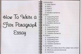 006 Paragraph Essay Example For Kids Sensational 3