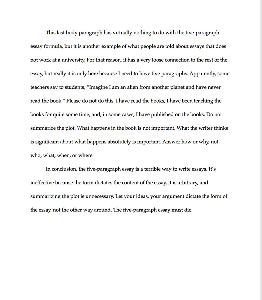 006 Paragraph Essay Example Exceptional 3 Elementary Outline Full