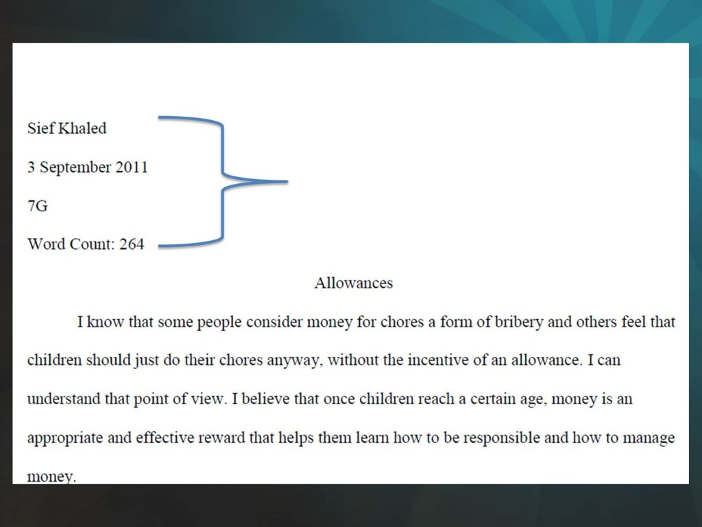 006 Picture2 Header For Essay Rare Application Apa Large