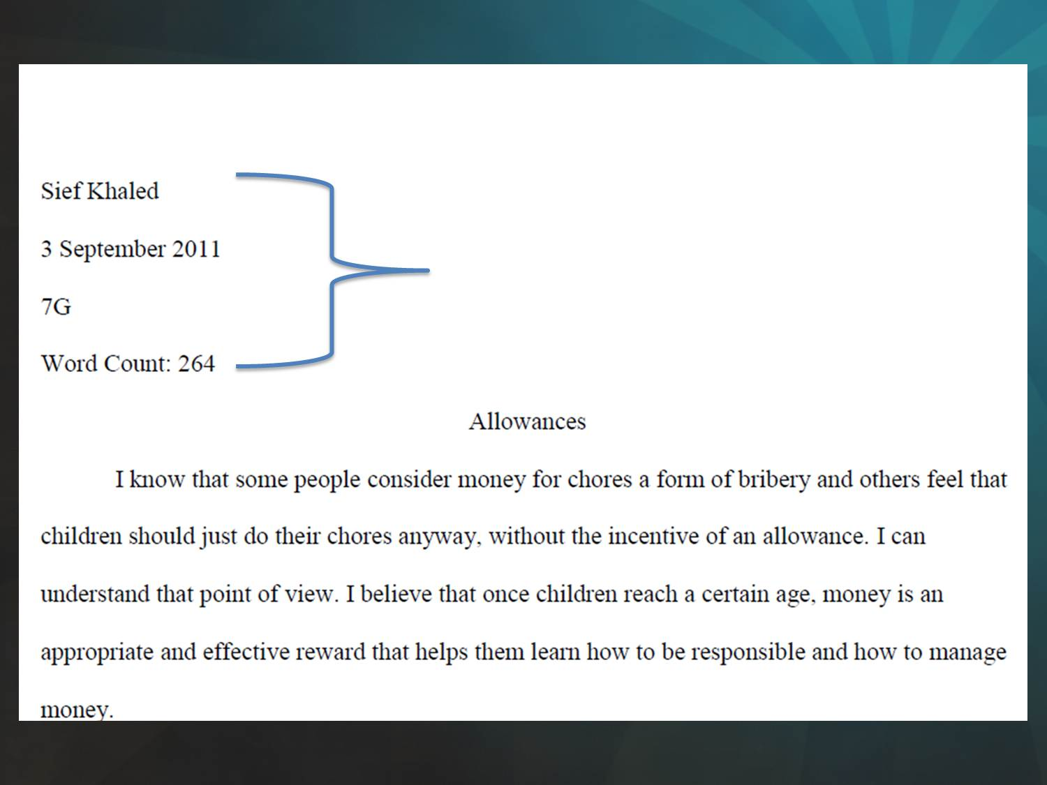 006 Picture2 Header For Essay Rare Application Apa Full