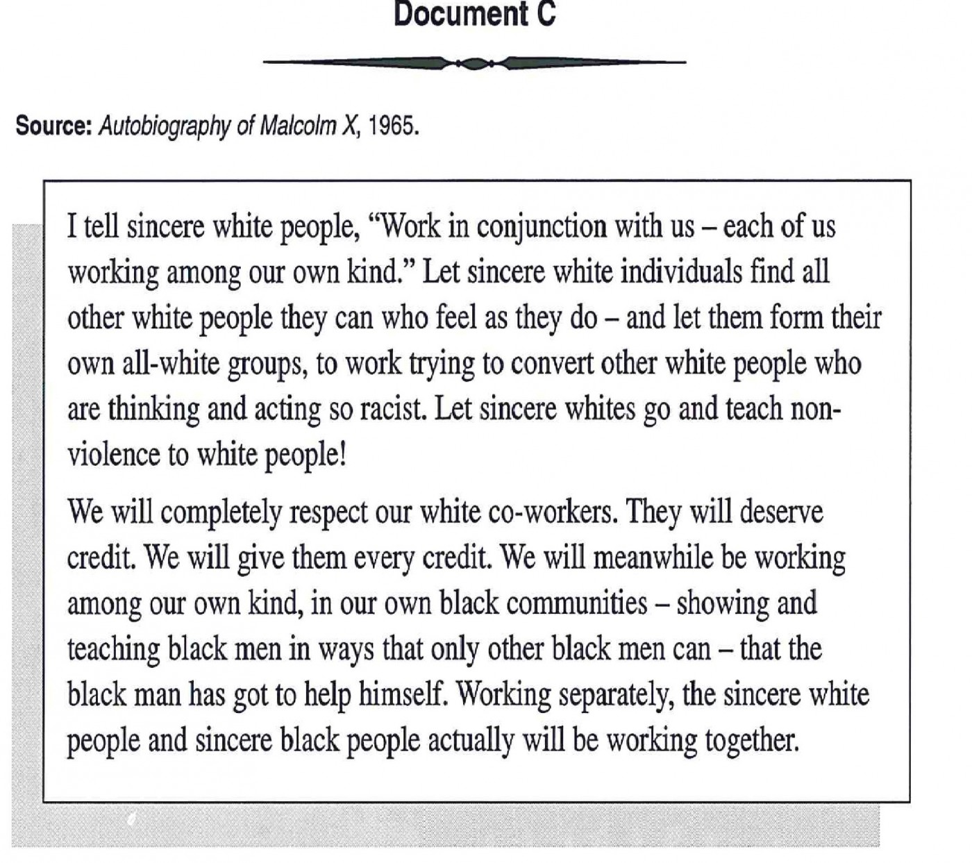 006 Racism Essay Malcolm X On For Modern American Black Lives Matter Persuasive Marvelous Conclusion Pdf Tkam 1400