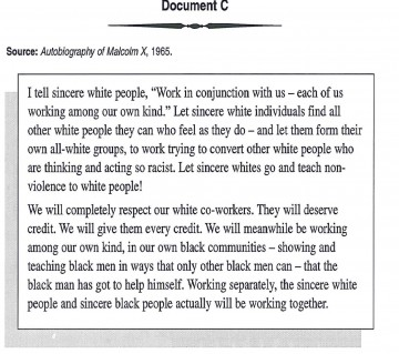 006 Racism Essay Malcolm X On For Modern American Black Lives Matter Persuasive Marvelous Conclusion Pdf Tkam 360