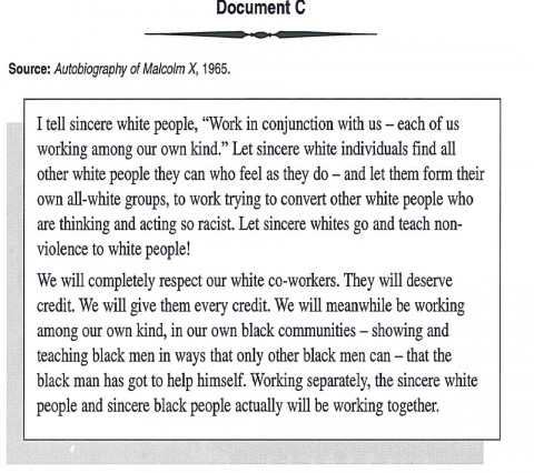 006 Racism Essay Malcolm X On For Modern American Black Lives Matter Persuasive Marvelous Conclusion Pdf Tkam 480