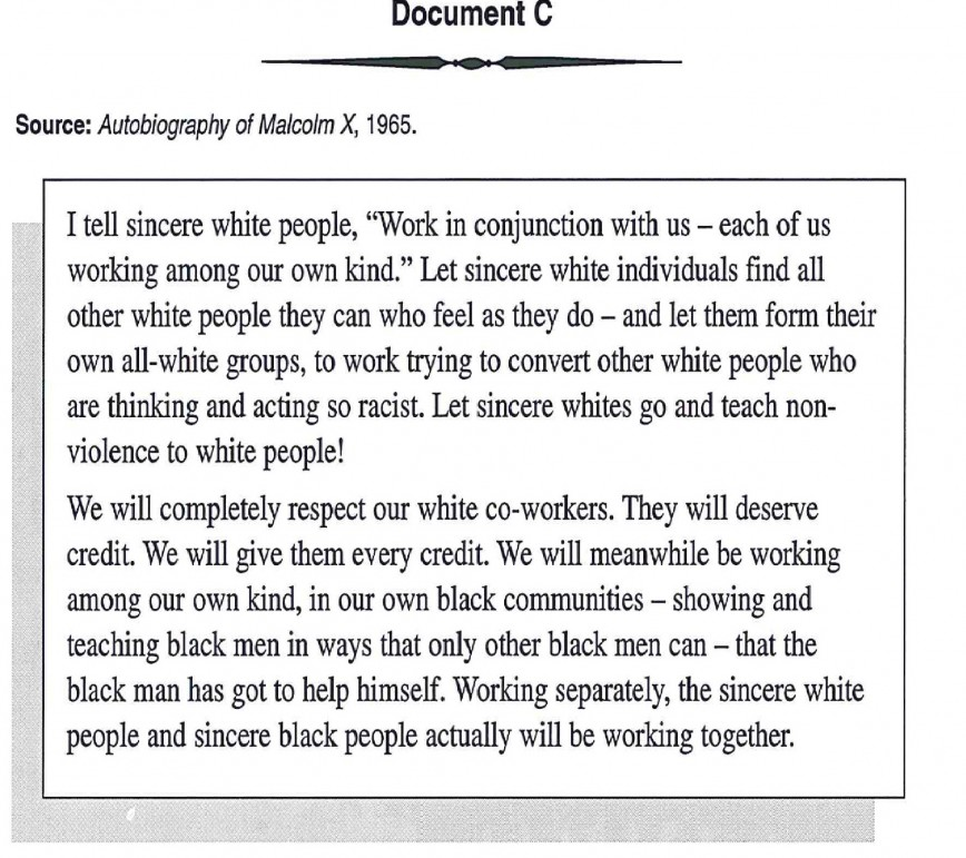 006 Racism Essay Malcolm X On For Modern American Black Lives Matter Persuasive Marvelous Conclusion Pdf Tkam 868