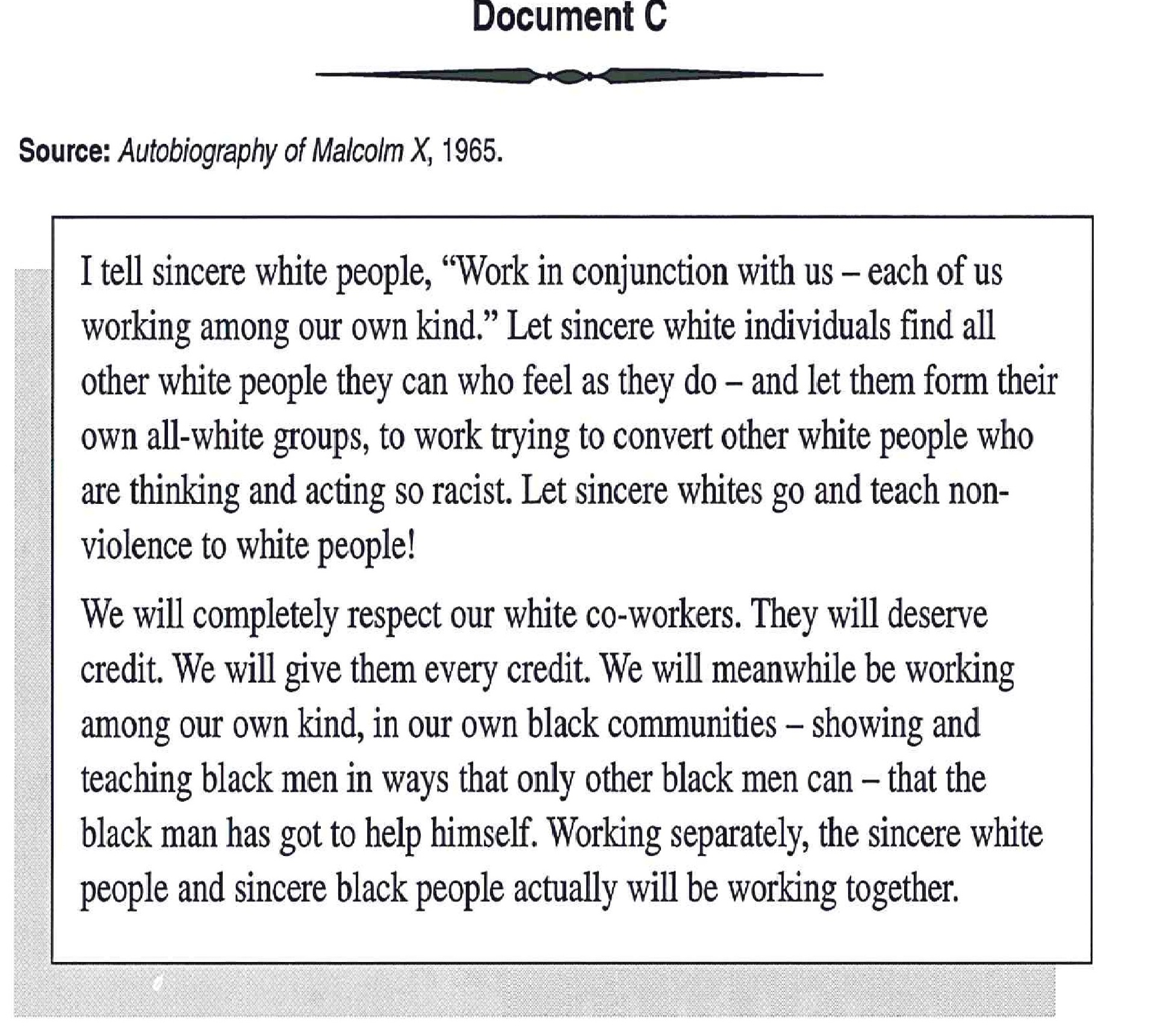 006 Racism Essay Malcolm X On For Modern American Black Lives Matter Persuasive Marvelous Conclusion Pdf Tkam Full
