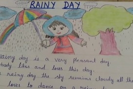 006 Rainy Day Essay English Maxresdefault Stupendous My In For Class 6 10
