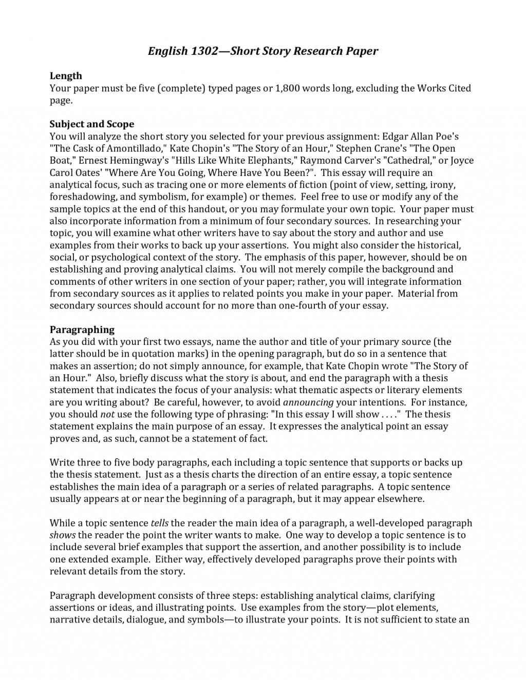 006 Research Paper Essay Imposing Format Example Sample Large