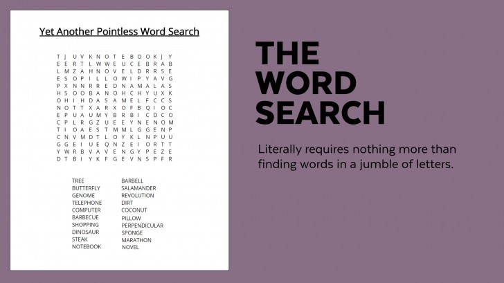 006 Sample Word Search Essay Example Superfluous Part Of An Awesome Crossword Clue 728