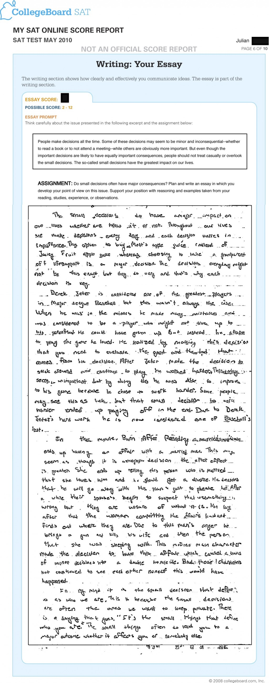 006 Sat Essay Example Jr May Stupendous Examples To Use Prepscholar Writing Paper Pdf Large