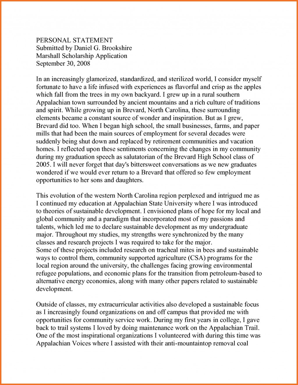 006 Scholarship Application Essay Samples Artresume Sample Personal Statement Mba Template Nsvwiupr Engineering Nursing Example Staggering Tips College Ideas Large