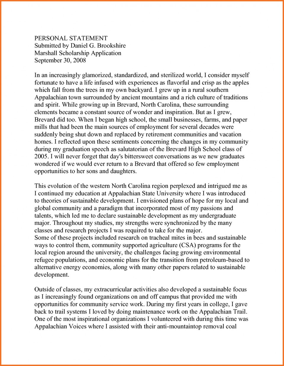 006 Scholarship Application Essay Samples Artresume Sample Personal Statement Mba Template Nsvwiupr Engineering Nursing Example Staggering Tips College Ideas 960