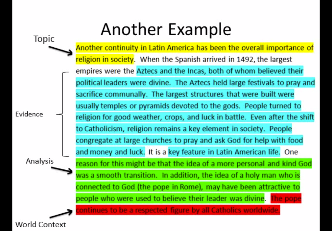 apwh ccot essay example