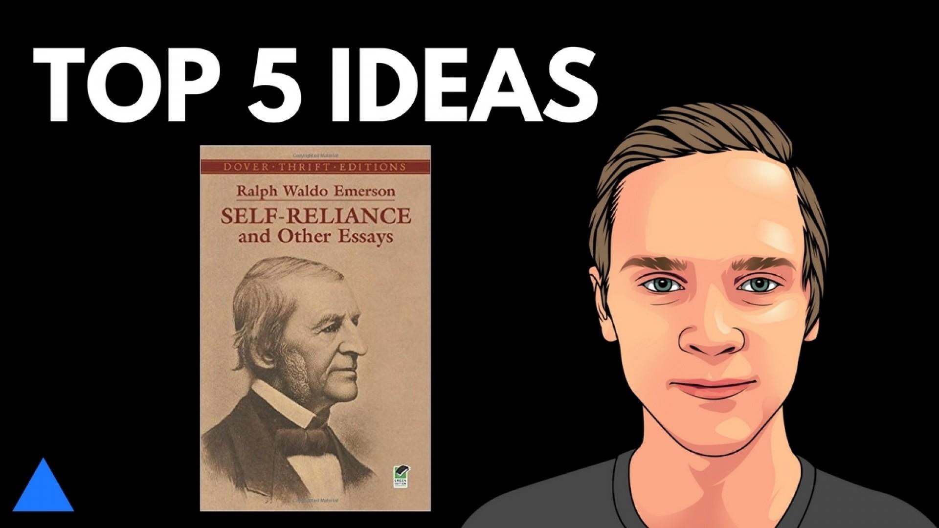 006 Self Reliance And Other Essays Maxresdefault Essay Formidable Ralph Waldo Emerson Pdf Ekşi 1920