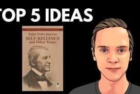 006 Self Reliance And Other Essays Maxresdefault Essay Formidable Ralph Waldo Emerson Pdf Ekşi