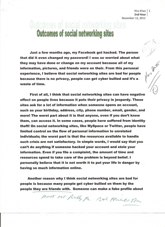 006 Social Networking 1 Descriptive Narrative Essays Remarkable Essay Examples Topics Good Large