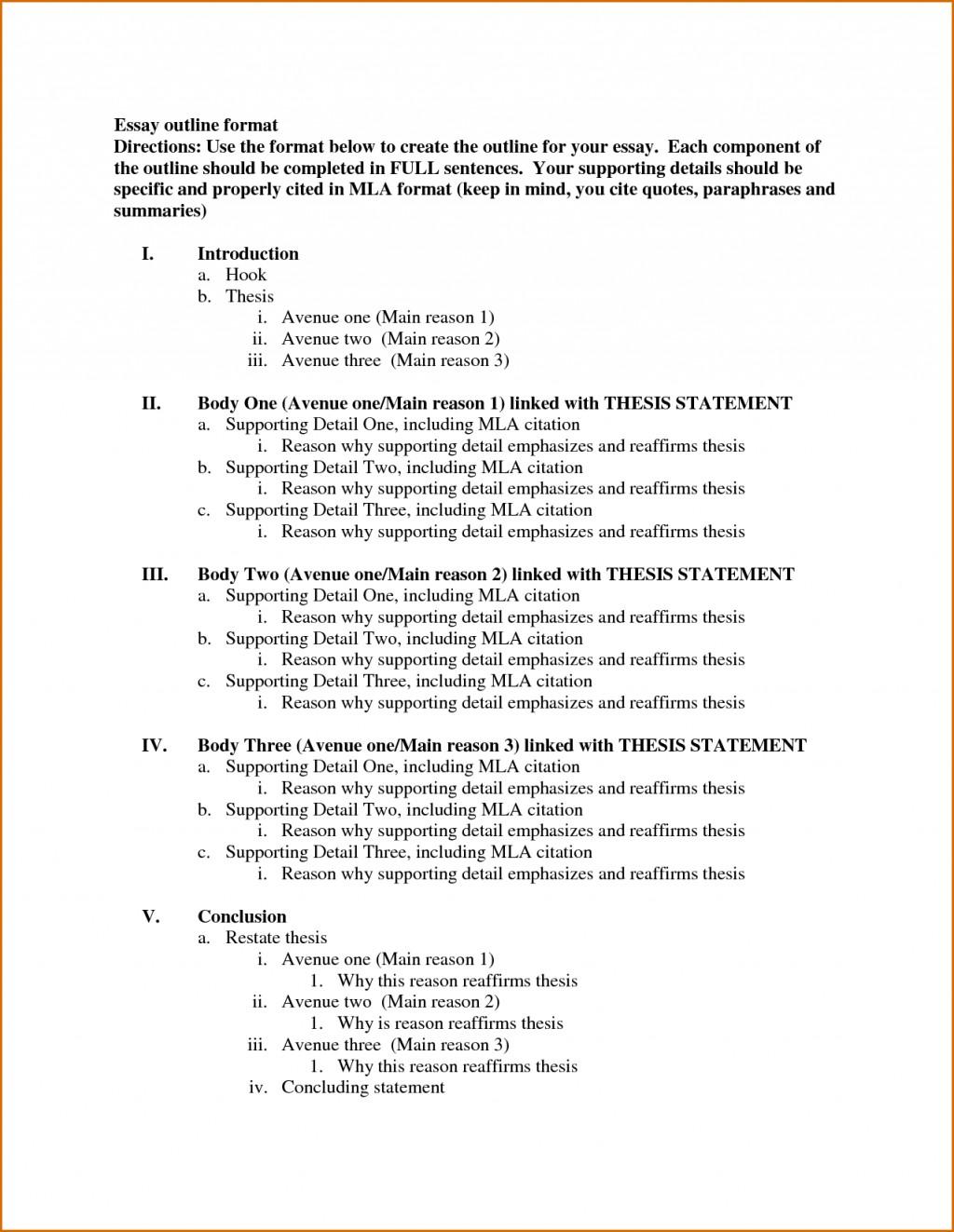 006 Template Essay Outline Example Excellent Mla Argumentative High School Research Paper Pdf Large
