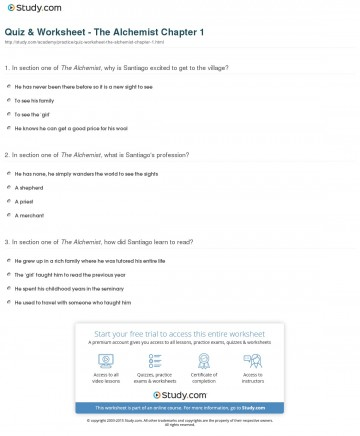 006 The Alchemist Essay Example Quiz Worksheet Chapter Remarkable Ben Jonson Questions Outline Thesis 360