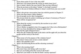 006 The Giver Essay Fearsome Topics Ideas Questions